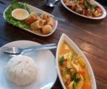 6. tajska hrana (chicken curry)