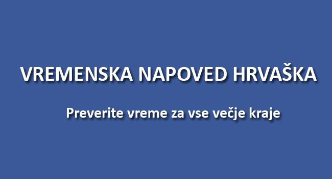 Vreme Hrvaška