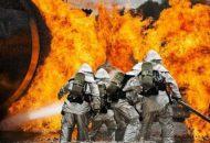V postelji kot gasilci