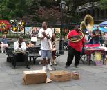 New Orleans-glasba na glavnem trgu