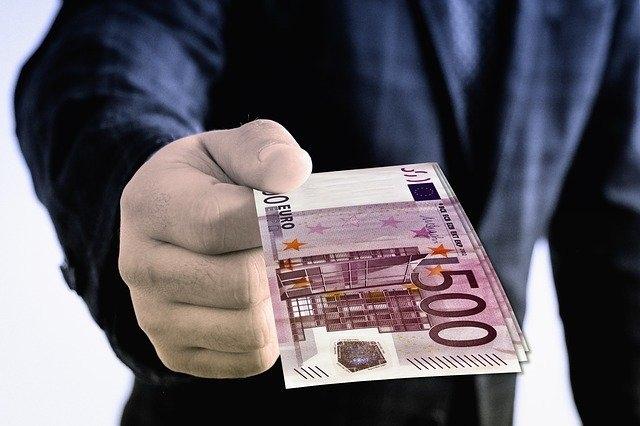 odskodnina denar