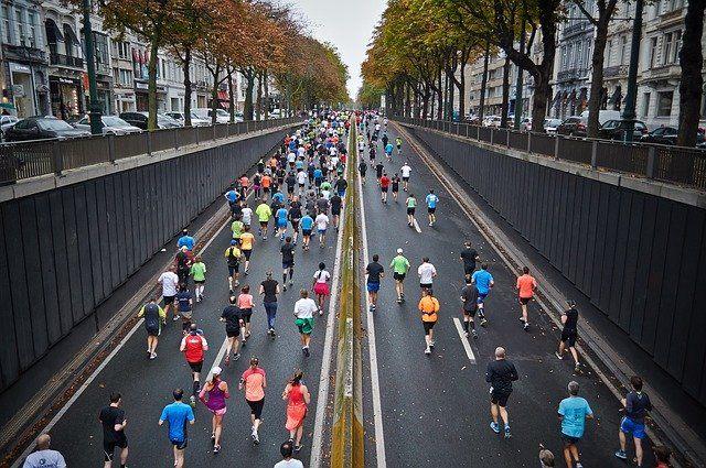 ljubljanski maraton brezplačne startnine withcar ulice