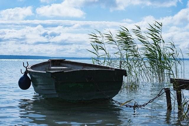 blatno jezero zahod