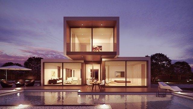 hiša nepremičnina velika