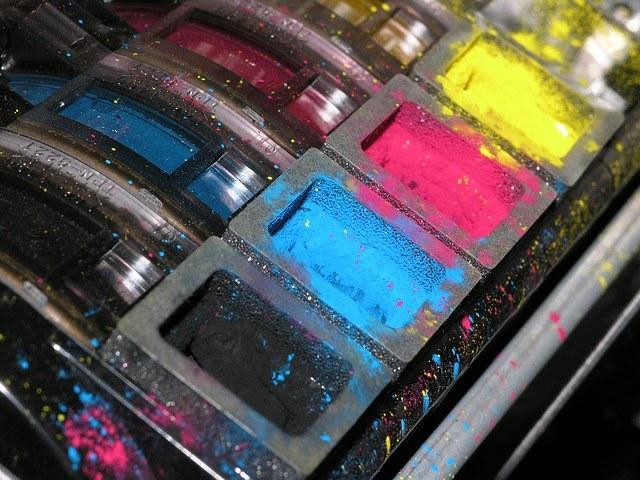 kartuše barve