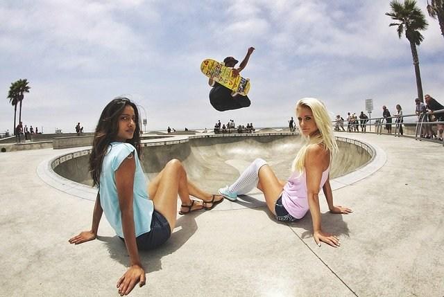 bmx rolanje rolkanje skatepark skiro šport urbani šport dekleta