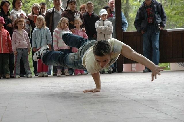breakdance center urbanih športov hip hop plezanje šport urbani šport učitelj