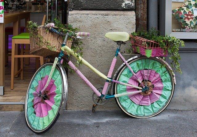 kvačkani izdelki kolo