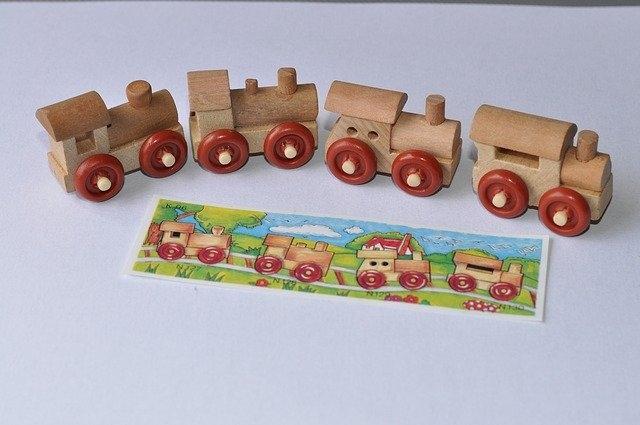 igrače lego leseni vlaki