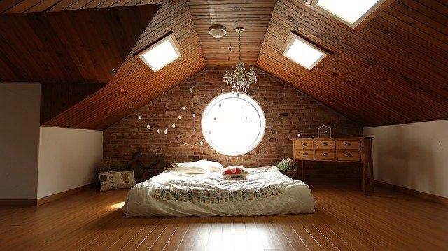 otroške sobe lesena