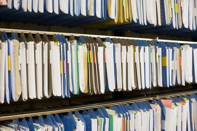 arhiviranje dokumentov police