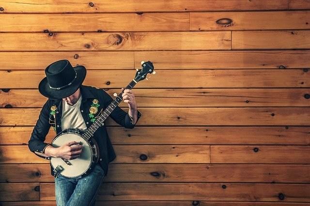 glasbena igra muzikalus banjo