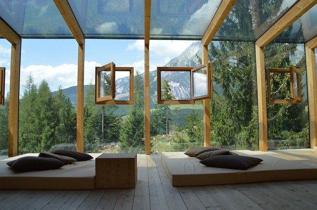 lesene hiše cenik montažne hiše notranjost