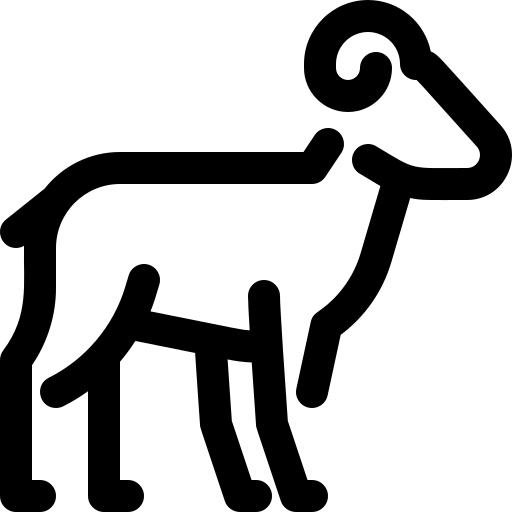ikonica kozorog